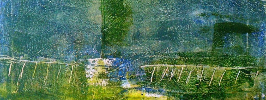 Malerei und Collagen von Ingrid Hess